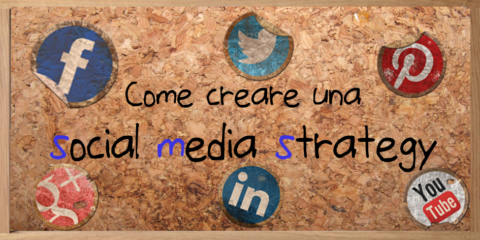come creare una social media strategy